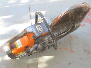 Stihl Concrete Cut Off Saw Model Ts400 Used In Good Condition