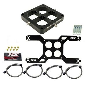 Nx647 Nitrous Express 4500 Dual Stage Billet Crossbar Plate Conversion