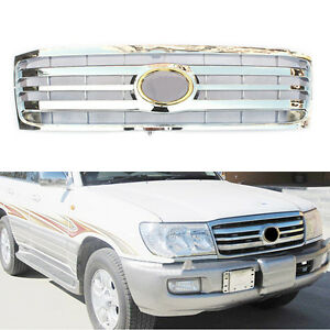 Crossband Front Grille For Toyota Land Cruiser 4700 Lc100 Fzj100 Uzj100 2006 07