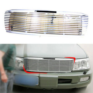 Abs aluminium Front Grille For Toyota Land Cruiser Fj100 Lc100 4500 4700 2003 07