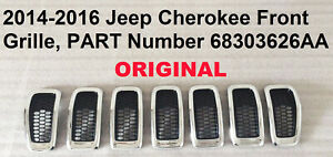 2014 2017 Jeep Cherokee Front Grille 68303626aa