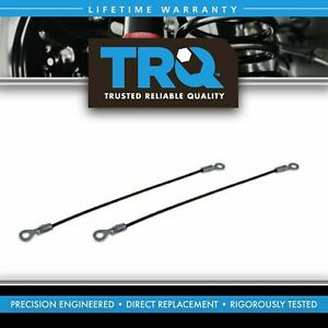 Trq Tailgate Cables Pair Set Of 2 For Dodge Ram 50 Plymouth Mitsubishi