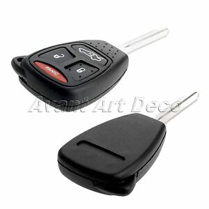 4 Buttons Car Remote Key Case Fob Shell Replacement For Jeep Dodge Chrysler New