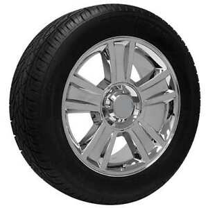 20 Chrome Cadillac Escalade Truck Wheel Tire Package For Sale