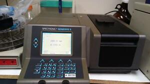 Professionally Tested Spectronic Genesys Uv vis Spectrophotometer