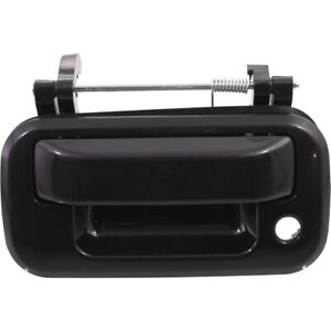 Tailgate Handle For 2004 2013 Ford F 150 With Keyhole Smooth Black Exterior