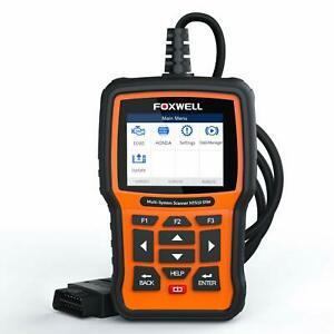 Foxwell Nt510 Elite For Bmw Obd2 Code Reader Car Diagnostic Scanner Reset Tool