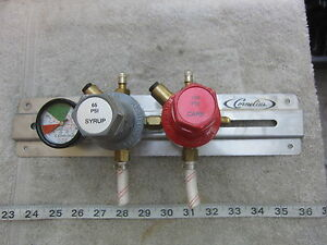 Norgren R81 220 lnga R81 219 lnga Syrup And Carbonation Regulator Used