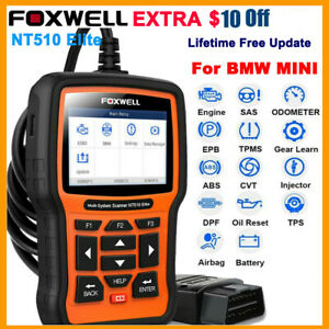 Automotive Abs Srs Epb Oil Reset Transmission Code Reader Scanner Car Diagnostic