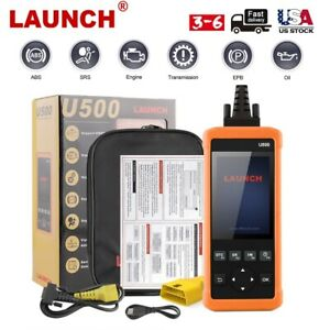 Launch Cr619 Automotive Scanner Obd2 Engine Abs Srs O2 Sensor Monitoring Test
