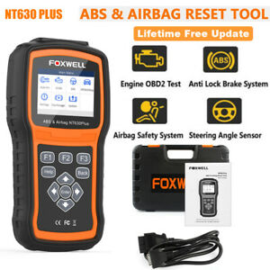 Automotive Obd2 Obdii Abs Bleeding Srs Sas Reset Diagnostic Scanner Engine Check