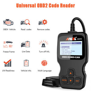 Obd2 Auto Scanner Car Live Data Code Reader Engine Check Diagnostic Tool Ad310