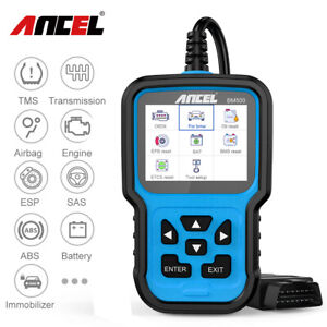 Universal Car Obd2 Abs Airbag Epb Oil Reset Code Reader Foxwell Nt414 As Crp123