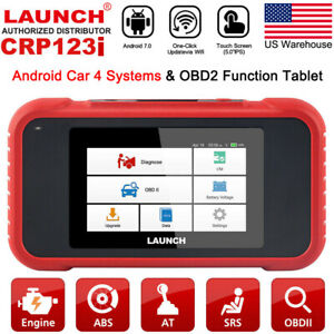 Launch X431 Crp123i Obd2 Car Scanner Auto Diagnostic Tool Scan Abs Srs Engine At