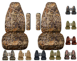1990 To 1997 Dodge Ram Camo Bucket Seat Covers One Armrest Cover Per Seat