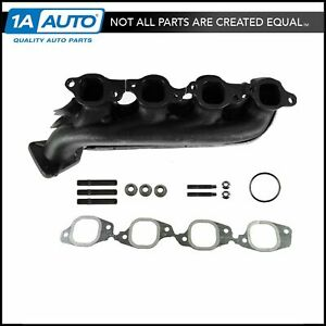 Exhaust Manifold Gasket Kit Driver Side Left Lh For Chevy Gmc Truck 8 1l V8