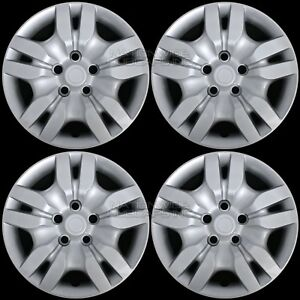 4 New 2002 2012 Nissan Altima Bolt On 16 Wheel Covers Hub Caps Full Rim Skins