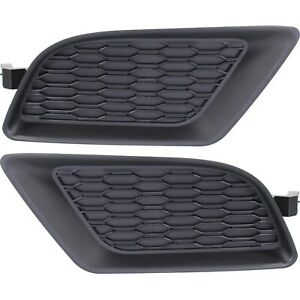New Fog Light Covers Set Of 2 Front Driver Passenger Side Lh Rh Charger Pair