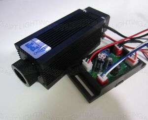 Focusable 980nm 500mw Dot Ir Infrared Diode Laser Module 12v Ttl With Driver
