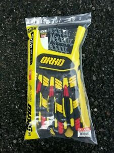 New Mechanix Orhd 4342 Xxl Yel blk red Waterproof High Visibility Gloves 90076