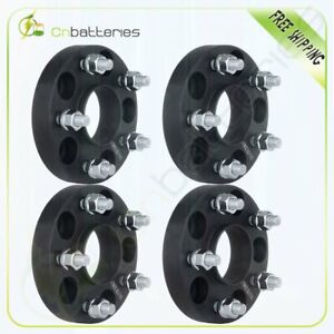 4x 25mm 1 5x4 5 Hubcentric Wheel Spacers For Nissan 300sx 350z Infiniti G35