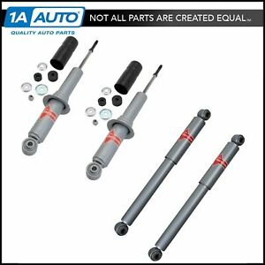 Kyb Gas a just 4 Piece Front Rear Shock Absorber Kit For 1995 04 Toyota Tacoma
