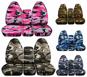 2002 To 2005 Dodge Ram 40 20 40 Seat Covers 17 Different Camouflage Designs