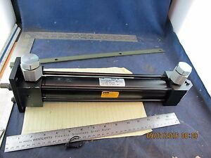 2h Parker Hydraulic Cylinder 1 5 Bore 10 Stroke 1500 Psi b2s4
