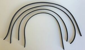 1936 1937 1938 1939 1940 1941 1946 Chevy Truck Inner Outer Window Seals 4pc