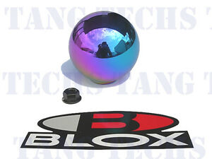 Blox 490 Limited Spherical Neo Chrome Shift Knob 10x1 5mm