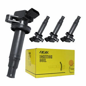 New Ignition Coil Set Of 4 Pack For Celica Corolla Matrix Mr2 Prizm Vibe 1 8l L4
