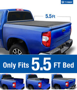 For 2007 2019 Toyota Tundra 5 5 Bed Tyger T2 Roll Up Low Profile Tonneau Cover