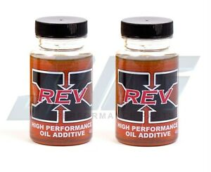 Rev X Engine Oil Treatment 2 4 Oz For Powerstroke Cummins Duramax Turbo Diesel
