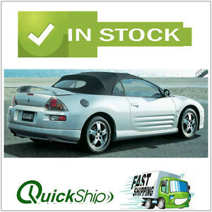 2000 2005 Mitsubishi Eclipse Convertible Top With Defroster Glass Window