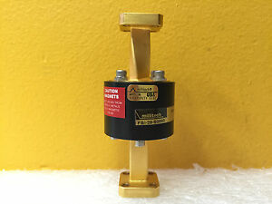 Millitech Fbi 28 s0000 wr 28 26 5 To 40 Ghz Full Band Waveguide Isolator New