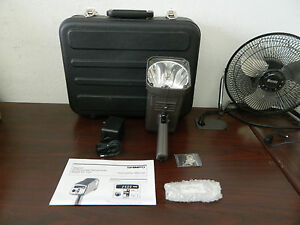 Shimpo Dt 725kit Internal Battery Powered Digital Stroboscope Kit 115v Ac