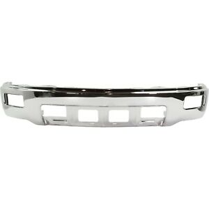 Front Bumper Chrome W Foglamps W O Pas For 2014 2015 Chevrolet Silverado 1500