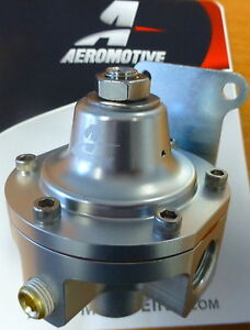 Aeromotive 13222 Ultra Low Fuel Pressure Regulator 1 5 To 5 Psi