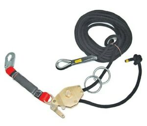 Guardian Fall Protection 04638 Kernmantle Horizontal Lifeline System With Ten
