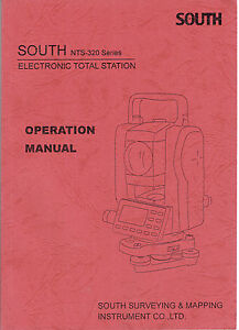 New South Nts 320 Total Station Manual