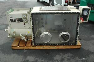 Vacuum Atmospheres Vac Oc 3 600 C Water Cooled Glove Box Oven Ante Chamber