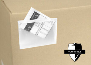 5 5 x7 5 Clear Packing List Invoice Envelopes 2 5 Mil 5 x7