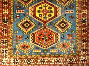 C 1970 Stunning Bijar Antique Persian Exquisite Hand Made Rug 3 7 X 4 8