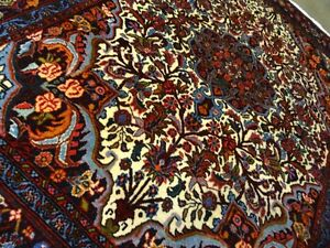 Circa 1970 Stunning Bijar Antique Persian Exquisite Hand Made Rug 3 7 X 5 1