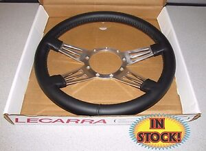Lecarra 96201 Mark 9 Double Slot 14 Steering Wheel Black