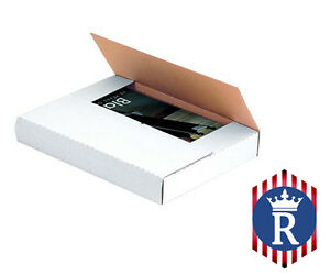 Corrugated Book Mailers 12 25x9 25 Variable Depth Box Best Quality Ships Today