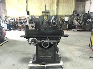 Gallmeyer Living 9 X 24 Surface Grinder Hyd Table