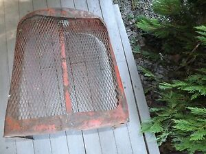 Allis Chalmers Wc Wd Wd45 Tractor Front Grill Field Dressed