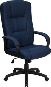 Flash High Back Navy Blue Fabric Executive Swivel Office Chair Bt 9022 bl gg