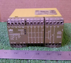 1 Used Pilz 474894 Pnoz3 5s10 N Safety Relay Make Offer